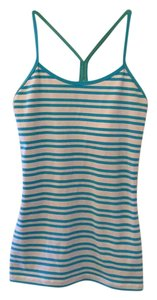 Lululemon Top Blue and white