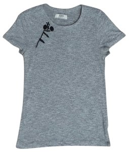J.Crew Soft Casual T Shirt Gray