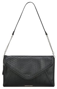 Nine West Black Metallic Clutch