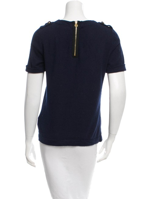 Tory Burch Top Navy Image 1