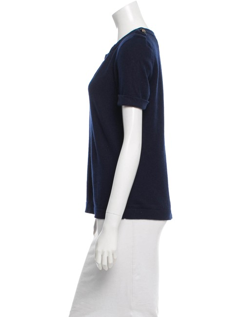 Tory Burch Top Navy Image 2