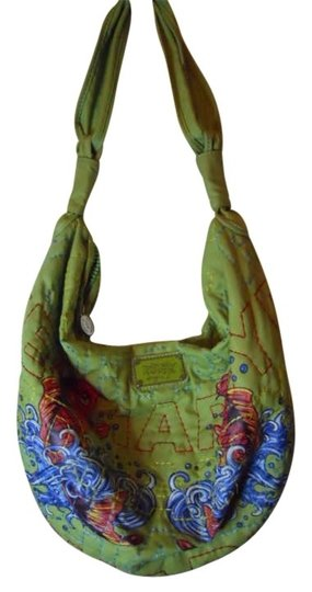 Preload https://item2.tradesy.com/images/ed-hardy-large-lime-green-polyester-hobo-bag-185361-0-0.jpg?width=440&height=440