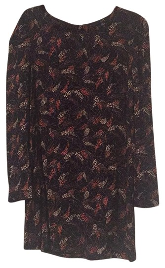 5b166a9063 well-wreapped Forever 21 Black, Taupe, Orange Floral Dress - 43% Off ...