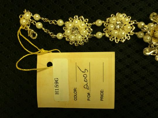 Giselle Bridals Gold Headpiece Hair Accessory