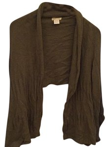 Neesh by D.A.R. Wrap Khaki Warm Cozy Cardigan