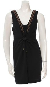 Vena Cava short dress Black Beaded on Tradesy