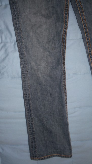 Elie Tahari Straight Leg Jeans-Medium Wash Image 4