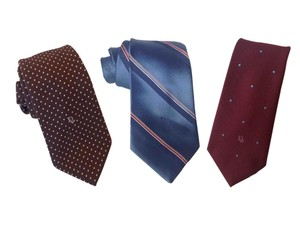 Dior 3 Mens Silk-Blend Ties