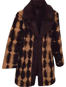 bebe Fur Rabbir Winter Fur Coat