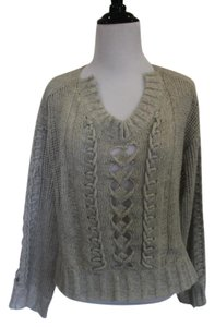 Nanette Lepore Wool Nylon Silk Oversized Sweater