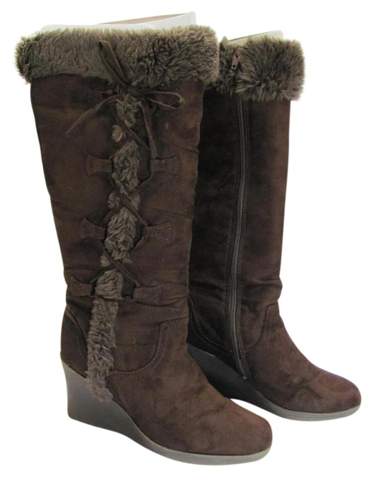 afd2f31ec4ed Elena Solano Brown M Very Good Condition Boots Booties Size US 7 ...