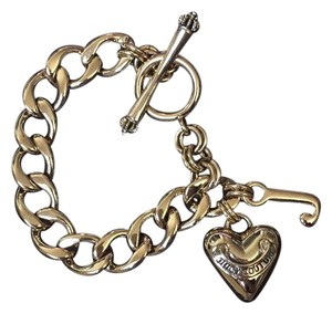 Juicy Couture Banner Heart Bracelet