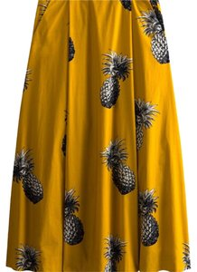 Ann Taylor Skirt Yellow