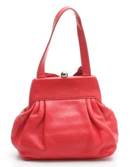 Marc Jacobs Patent Leather Satchel in Red