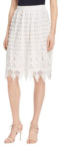 Jealous Tomato Lace Skirt WHITE