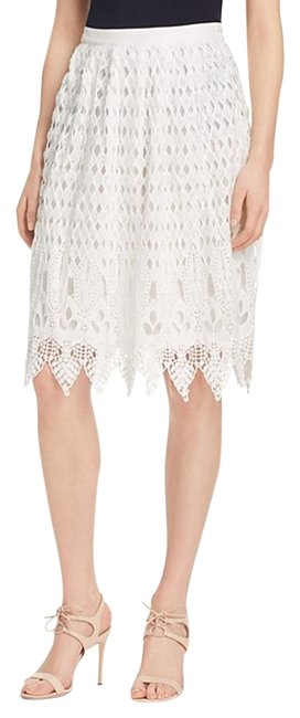 Preload https://img-static.tradesy.com/item/18537694/jealous-tomato-white-lace-knee-length-skirt-size-2-xs-26-0-1-650-650.jpg