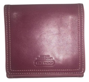 Coach Pre-Owned Women's Small Coach Leather Wallet