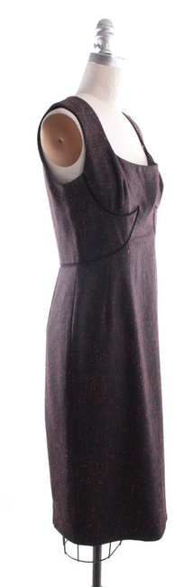 Zac Posen short dress Black Cocktail Fitted Pencil Sheath on Tradesy Image 4
