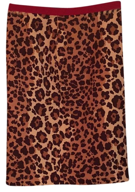 Preload https://img-static.tradesy.com/item/18538087/moschino-leopard-cheap-and-chic-skirt-size-2-xs-26-0-1-650-650.jpg