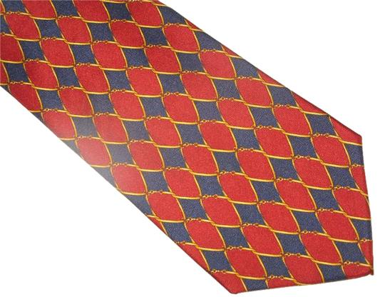 Preload https://img-static.tradesy.com/item/18538147/pierre-cardin-redblue-traditional-and-pattern-silk-necktie-0-1-540-540.jpg
