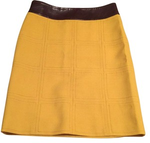 Tory Burch Skirt Yellow