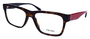 Prada Prada Eyeglasses Tortoise and Red 53mm
