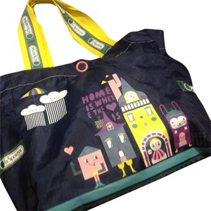 LeSportsac Tote in Navy Blue With Prints