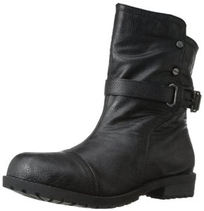 N.Y.L.A. Ankle Black Boots