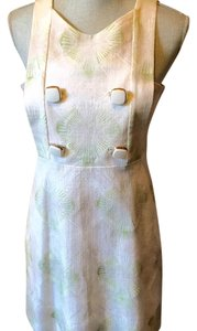 Chlo short dress Beige, creme, green on Tradesy