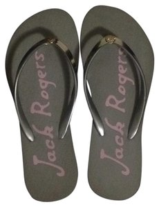 Jack Rogers Gray, silver Sandals