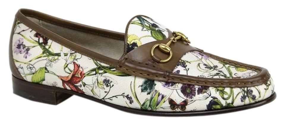 8f1b3c343 Gucci Multi-color New Women's Floral Canvas Loafer It 39.5/Us 309717 ...