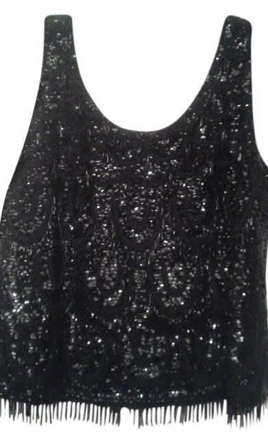 Preload https://img-static.tradesy.com/item/18539869/black-vintage-heavily-beaded-night-out-top-size-6-s-0-1-650-650.jpg
