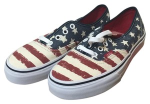Vans Red,White and Blue Athletic