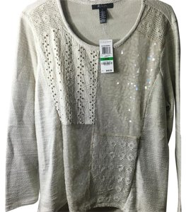 Style & Co Top Fawn/ nude