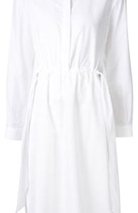 Cédric Charlier short dress White on Tradesy