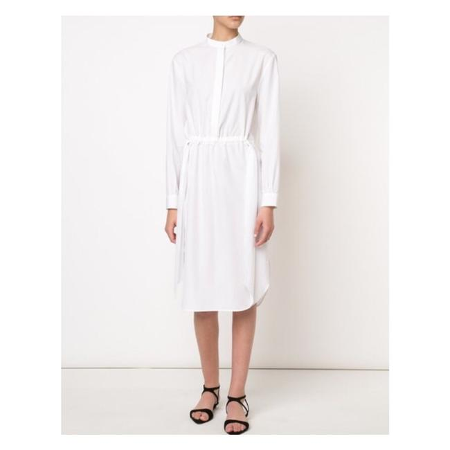 Preload https://img-static.tradesy.com/item/18540412/cedric-charlier-white-gathered-front-us-sm-mid-length-short-casual-dress-size-4-s-0-4-650-650.jpg