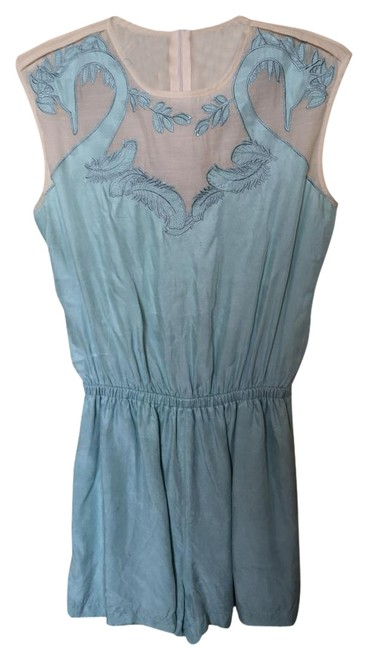 Preload https://img-static.tradesy.com/item/18540442/blue-swan-mini-romperjumpsuit-size-8-m-0-2-650-650.jpg