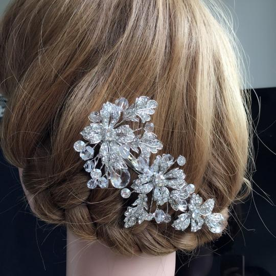 9.2.5 Crystal Clip Flower Vine Comb New Hair Accessory