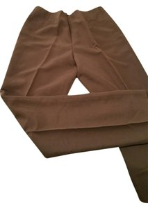 Sigrid Olsen Collection Professional Trouser Pants Coffee Bean