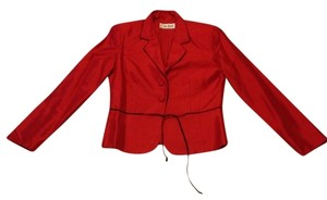 Light Out Top red Blazer