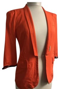 Prada Orange Jacket