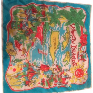 Virgin Islands Vintage scarf