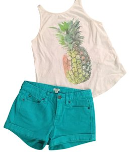 J.Crew Mini/Short Shorts Teal