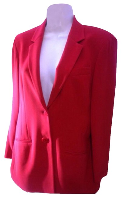 Preload https://img-static.tradesy.com/item/18541732/jones-new-york-red-2-piece-dress-skirt-suit-size-10-m-0-1-650-650.jpg