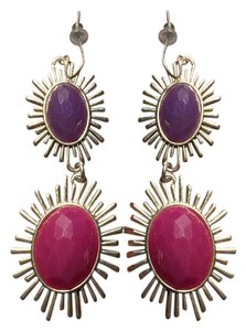 Francesca's Sunburst earrings