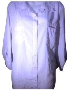 Elementz Button Down Shirt White