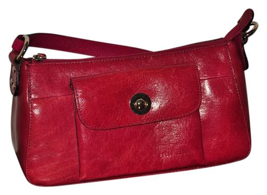 Preload https://img-static.tradesy.com/item/18542014/pelle-studio-red-wilsons-leather-baguette-0-1-540-540.jpg
