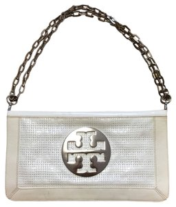 Tory Burch White Clutch