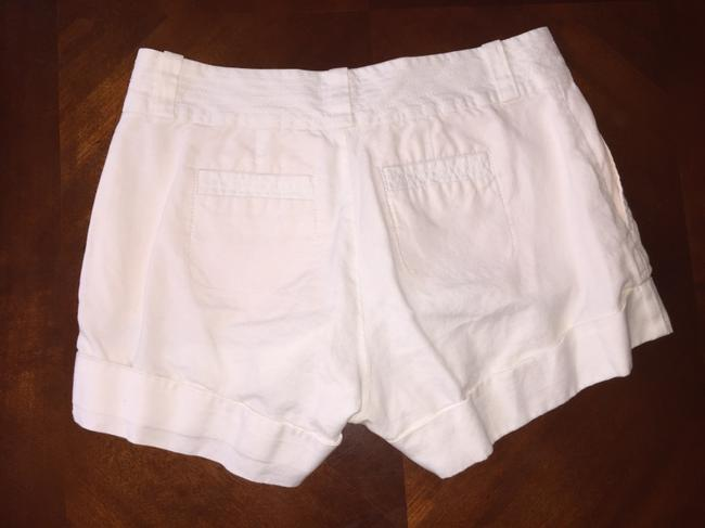Banana Republic Mini/Short Shorts White