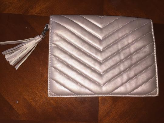 Neiman Marcus Grey Clutch